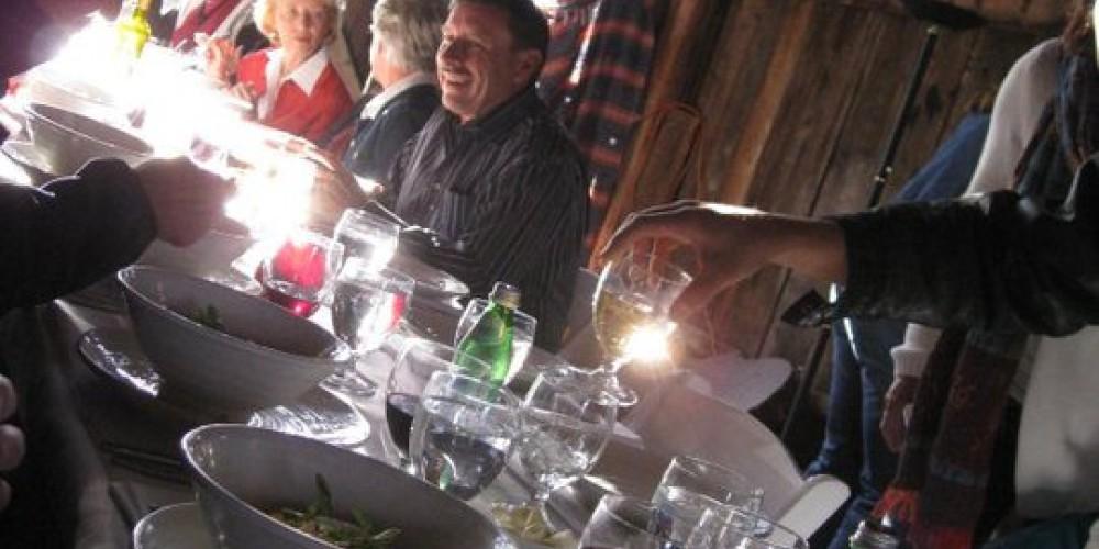 Dinner in The Barn – LeTina Vanetti