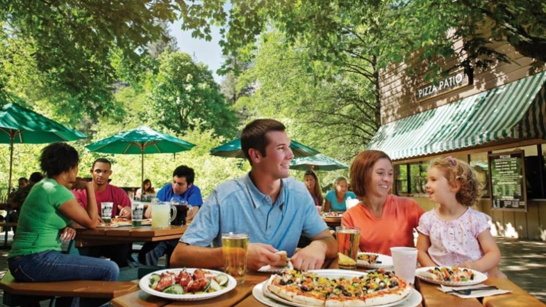 Half Dome Village Pizza Deck