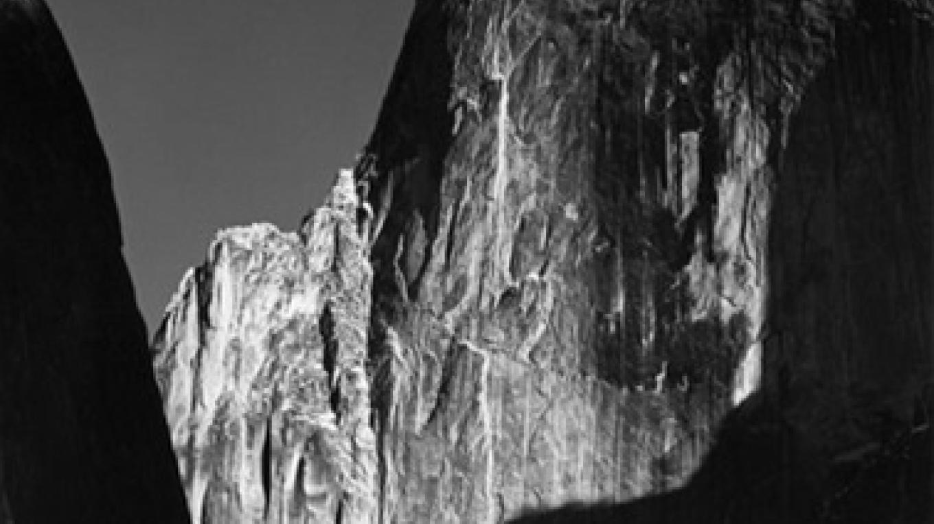 Moon and Half Dome – Ansel Adams