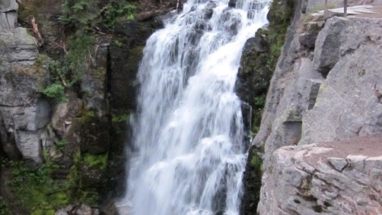 King's Creek Falls is a cascade-style waterfall 70 feet tall. – Leah Duran