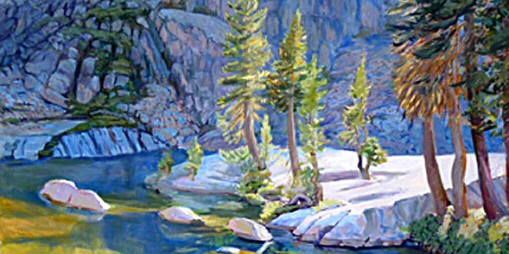 Oil painting by Jane Ziegler – Nadi Spencer