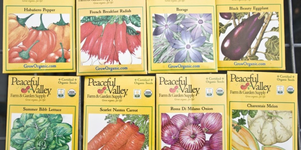 Peaceful Valley Farm & Garden Supply's own Certified Organic vegetable seed packs. – Stephanie Brown