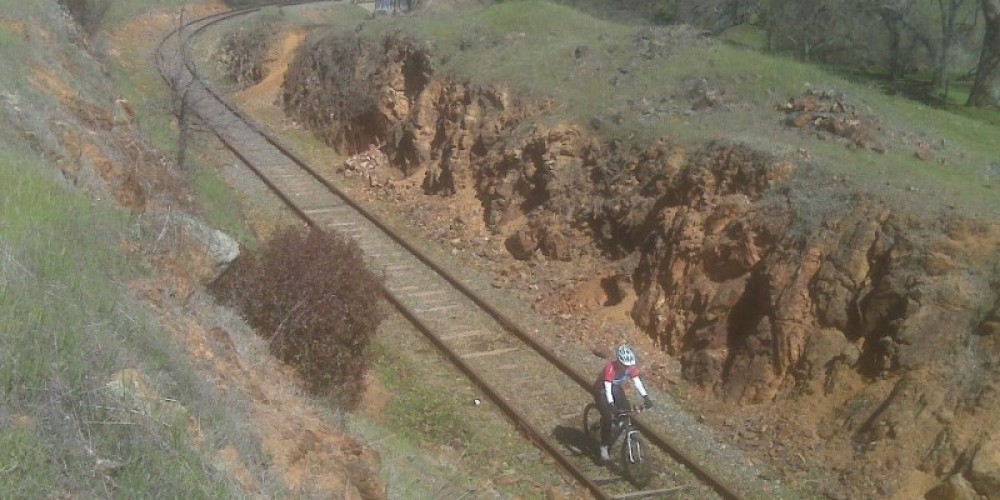 This multi-use trail runs along old abandoned railroad tracks. How cool is that? – www.eldoradotrail.com