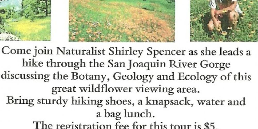Friends of Auberry Library  Gorge nature hike