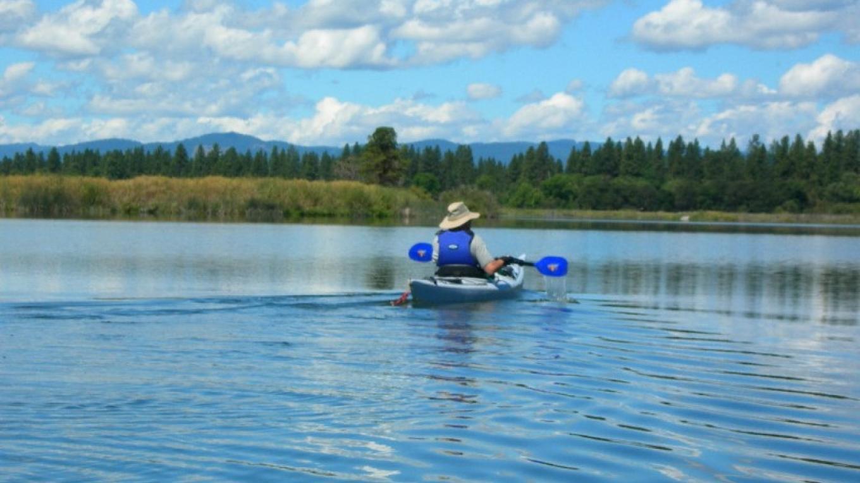 Kayaking at Ahjumawi – courtesy of Ahjumawi Lava Springs State Park
