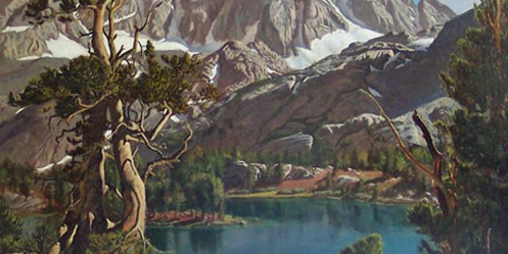 Fifth Lake, North Fork of Big Pine Canyon – Wynne Benti/Coons Gallery