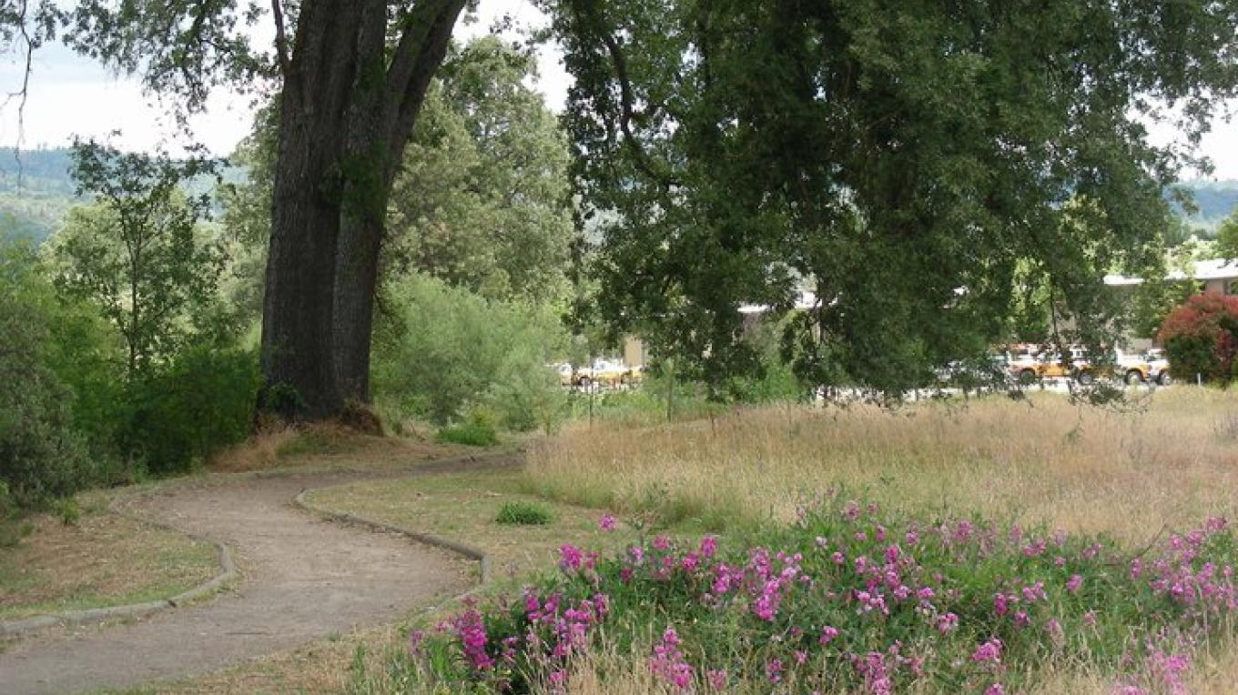 Spring on Oakhurst River Parkway – Sandy Brinley, Chairperson ORP