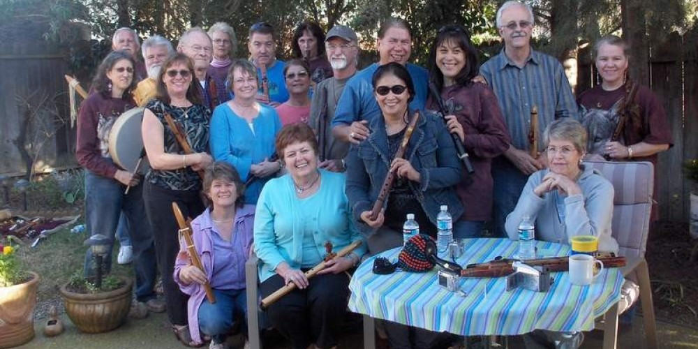 Loping Wolf Flute Circle – LopingWolf.com