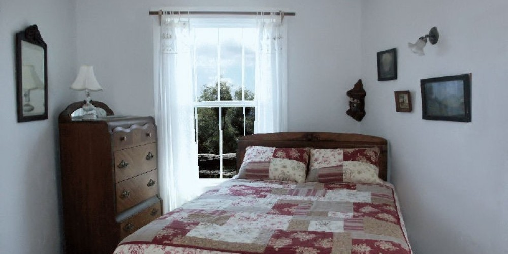 Each of the bedrooms at Lyn-Mar Pond Guest Ranch are nicely decorated and very comfortable.