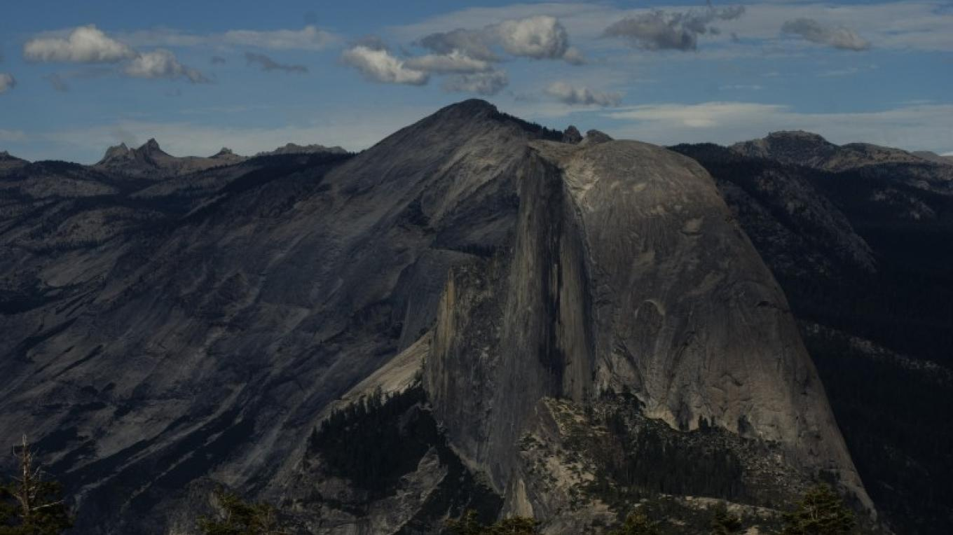 View of Half Dome from Sentinel Dome, part of a panoramic view. – Jeanetta Phillips