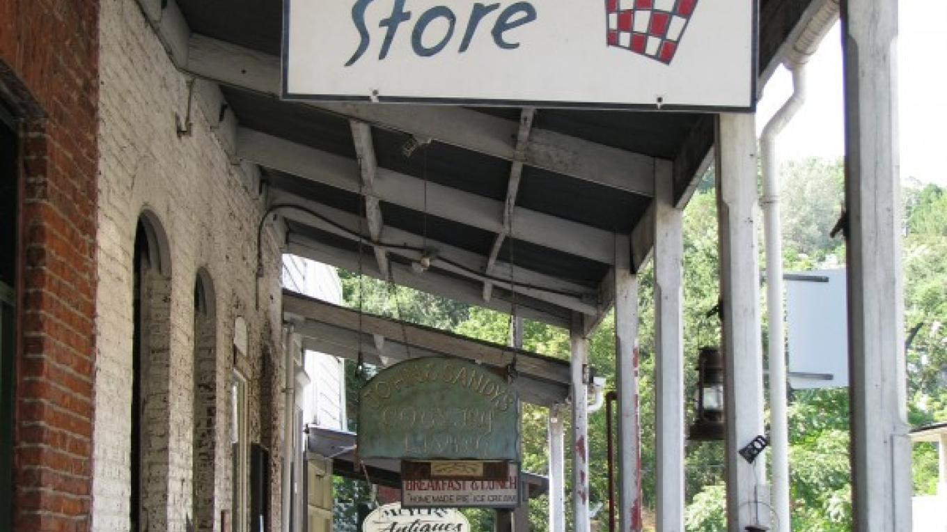 Shops abound in the historic buildings. – Karrie Lindsay