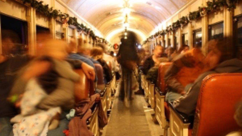All aboard Santa\'s Starlight Express! – K. Baker
