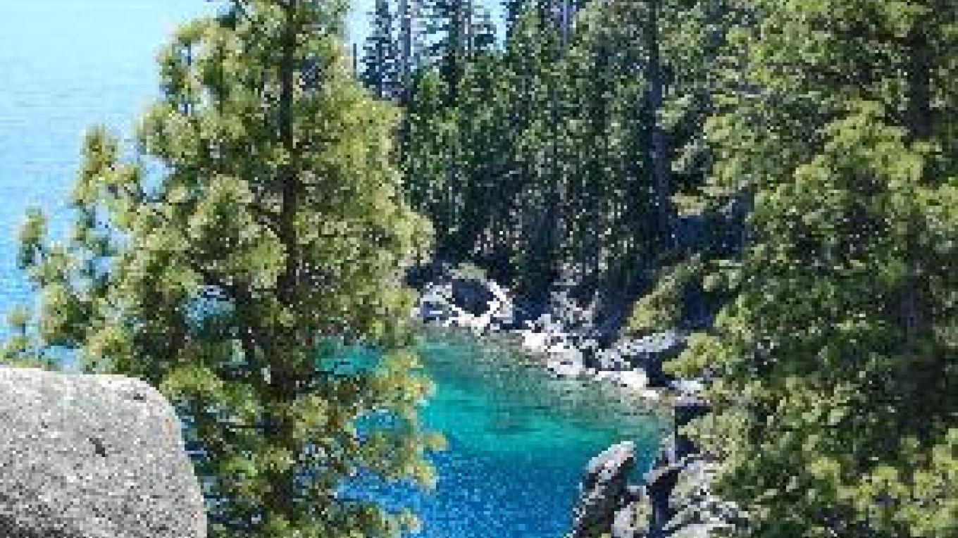 View from Rubicon Trail