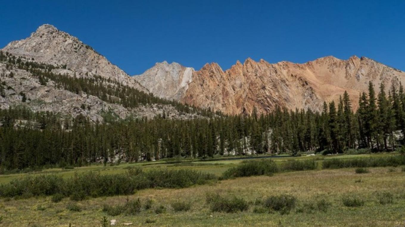 Paiute Crags from Grass Lake. – Wilson's Eastside Sports