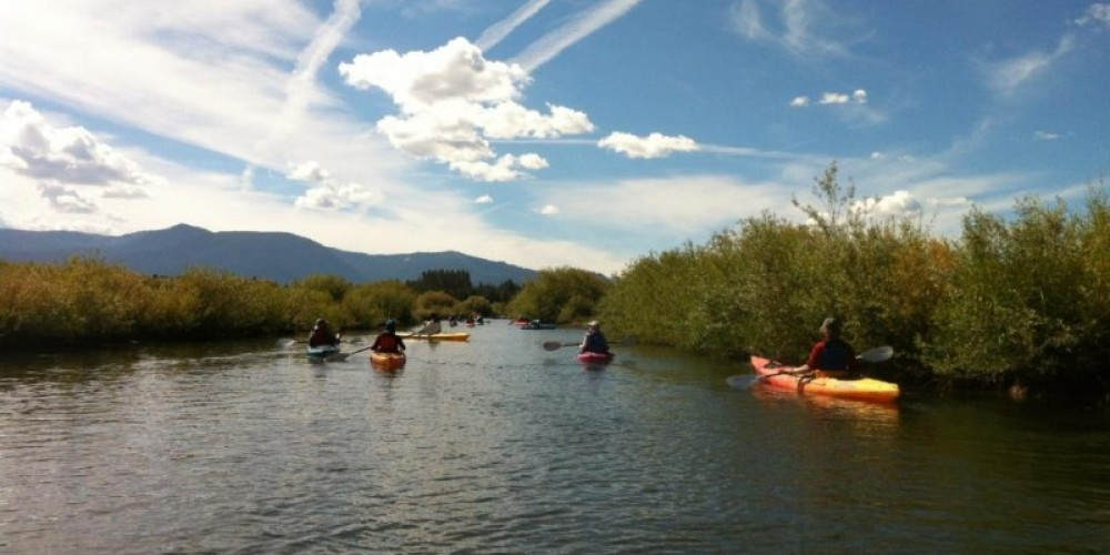 Upper Truckee Marsh gets paddlers up close and personal with Osprey, river Beaver and Tahoe's vibrant ecosystem and the measures to protect it. – Tahoe Expo