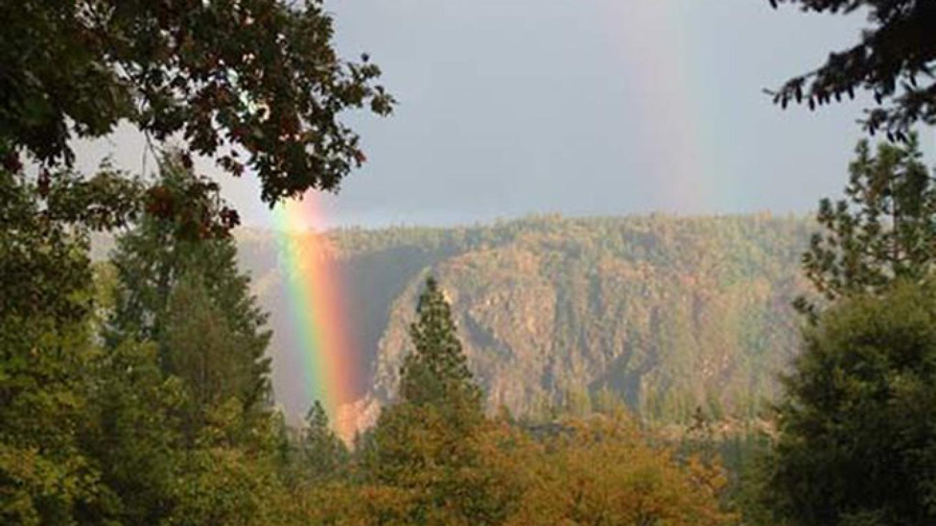 Rainbows Over the American River Canyon – Krista Weidman