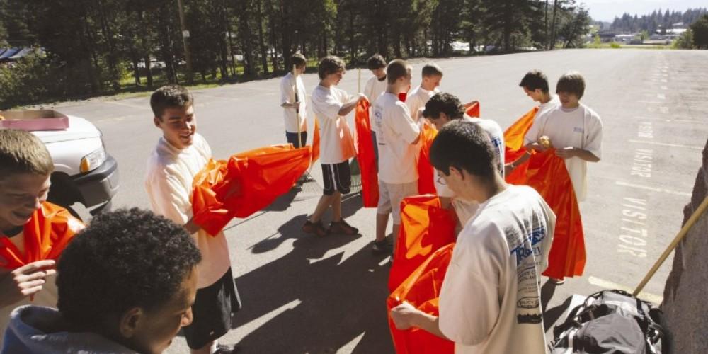 Preparing to clean the roads – Courtesy Sierra Sun