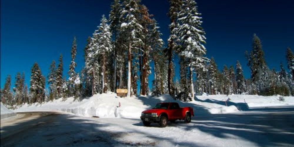 The Tamarack Sno-Park parking area – www.distancecalculator.com