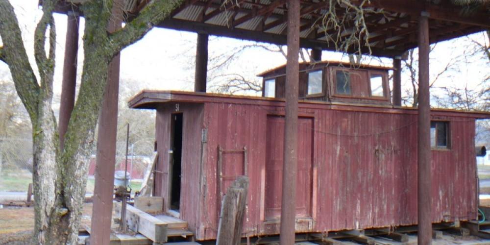 San Joaquin & Eastern Railroad Caboose – Susan Leeper