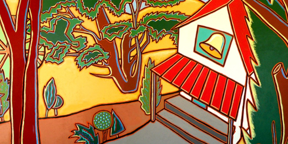 Our Town Mural, Three Rivers Union School. – Nadi Spencer