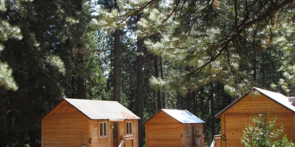 Cabins at Mill Creek Eco Resort. – Ben Miles