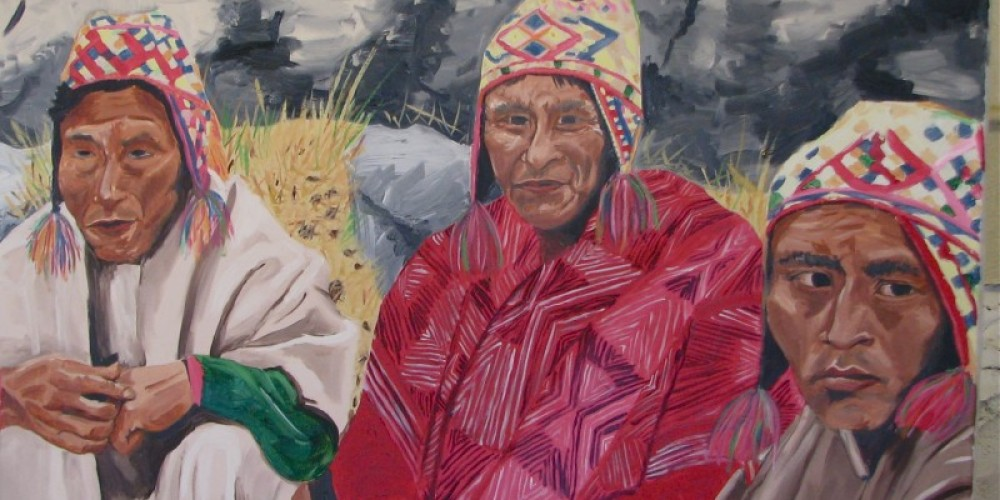 Q'ero people have to live in total harmony with themselves and nature due to the harsh environment. – Karrie Lindsay