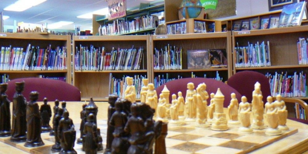 Chess every Thursday at the library – Susan Leeper