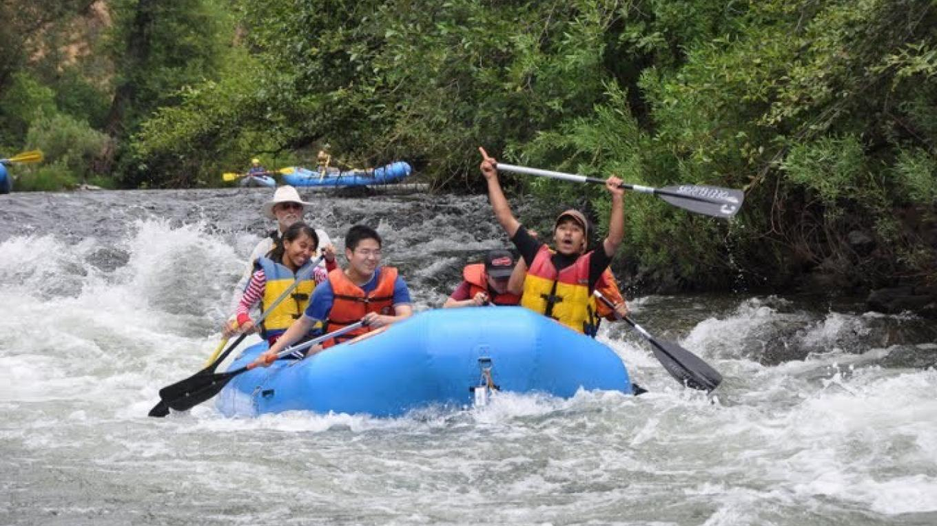 Rafting on the Electra Run, June 2009 – Pete Bell