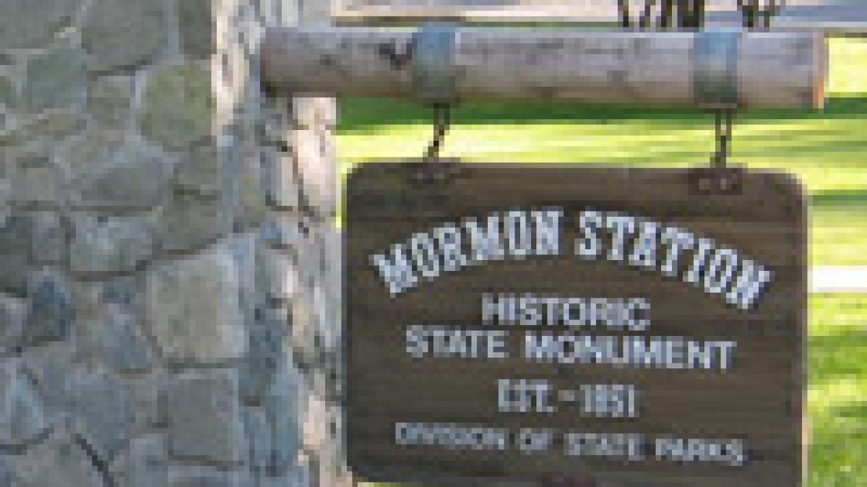 Mormon Station State Park Monument Sign – Jennifer Hollister