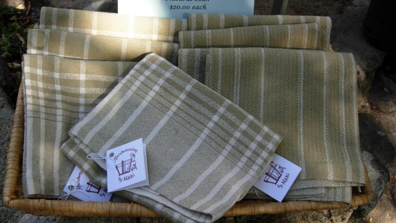 Organic natural color towels – Nikki Crain