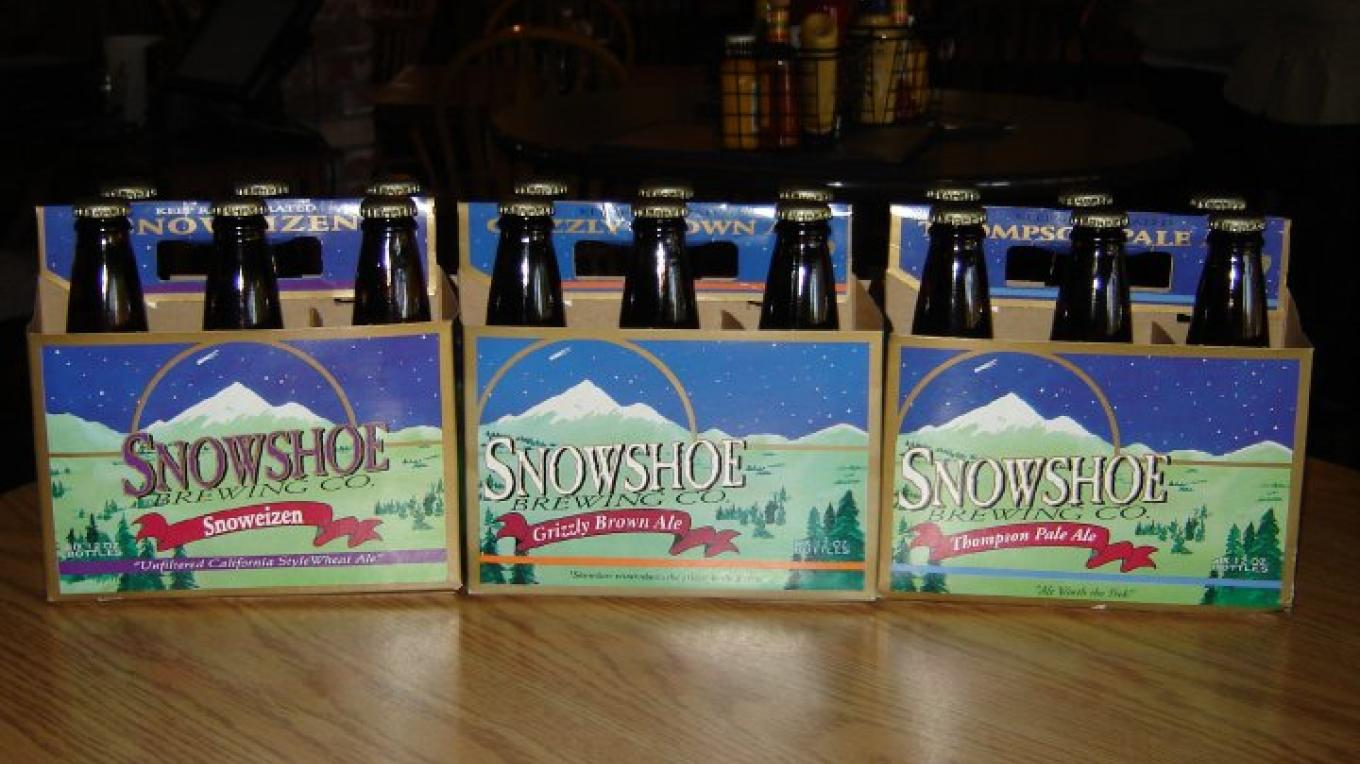 Take some Snowshoe beer home with you. – Snowshoe Brewing Co