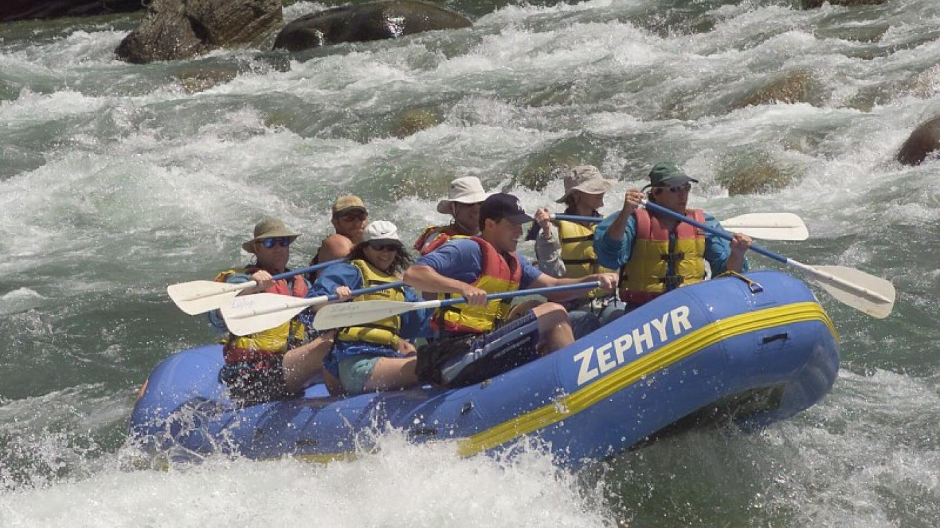 Bonzai Rapid on the Kings River – Picture This Photography