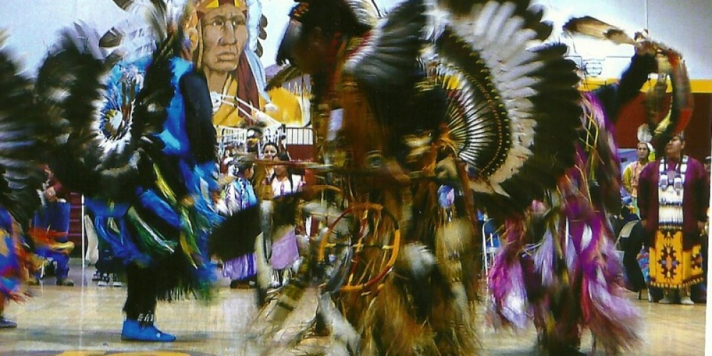 Men's traditional dance.  All photo's Sierra High School Eastern Mono Pow Wow 2010, except for the last picture. – Susan Leeper