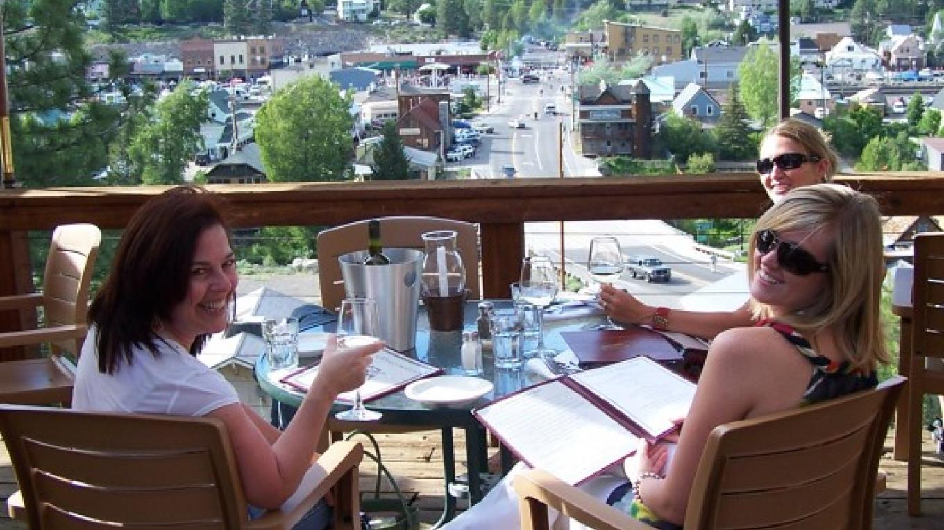 "The Cottonwood Deck has been voted ""Best Outdoor Dining in Truckee"". – Mike Blide"