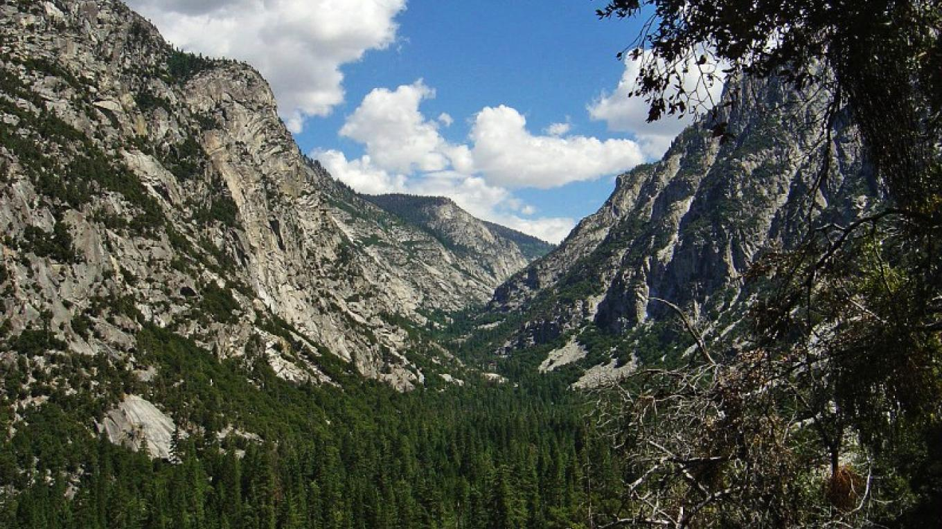 Kings Canyon National Park provides visitors with stunning views of a U-shaped gorge carved by glaciers of yesteryear. – National Park Service - Rick Cain