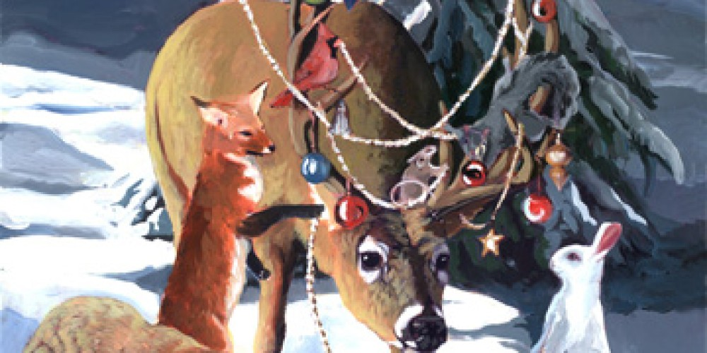 Animals find a box of ornaments in Sequoia National Park. – Nadi Spencer