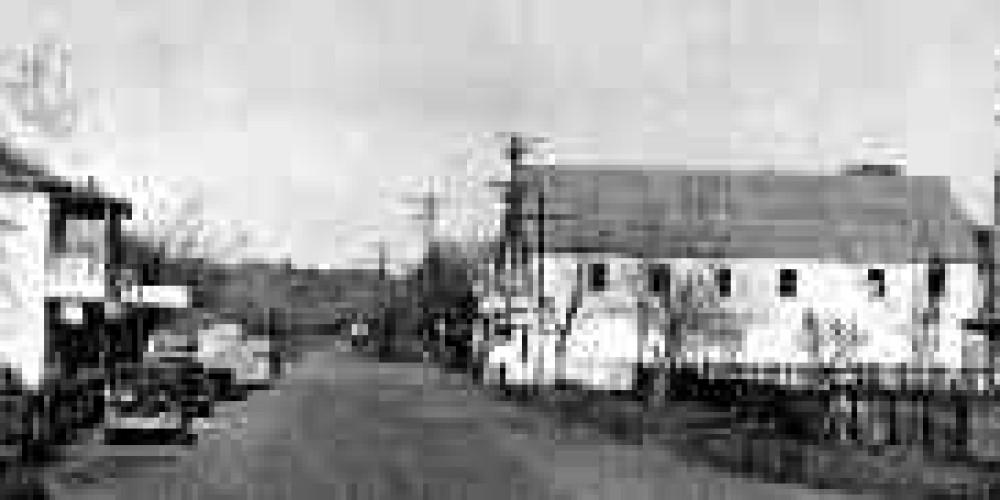A historic photo of Camanche. – Chris Giegle