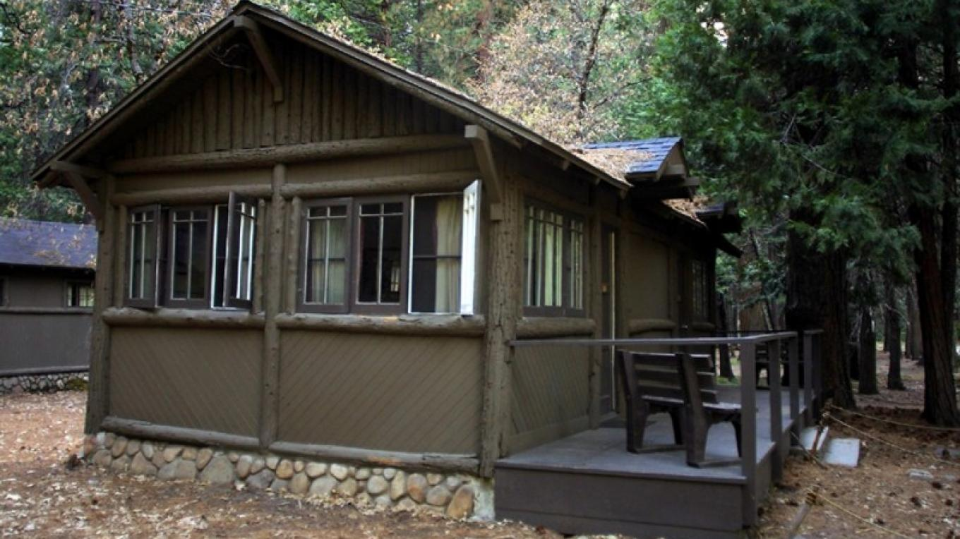 Half Dome Village Cabin