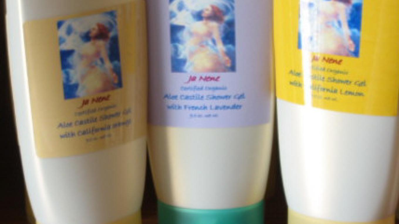USDA Certified Organic Shower Gels - Lavender, Mountain Mint, Ginger Lemongrass, orange and lemon – Janene Lasswell