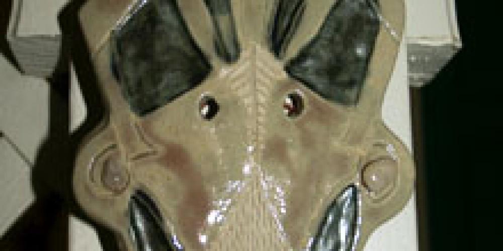 """""""Bird Mask"""" – Shirley A. Blair Keller"""