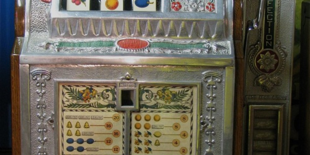 Restored slot machines cannot be used for commercial gambling purposes. – Karrie Lindsay