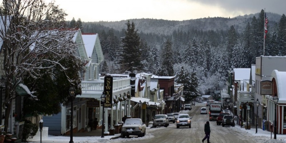 Broad Street in the wintertime – Dave Carter
