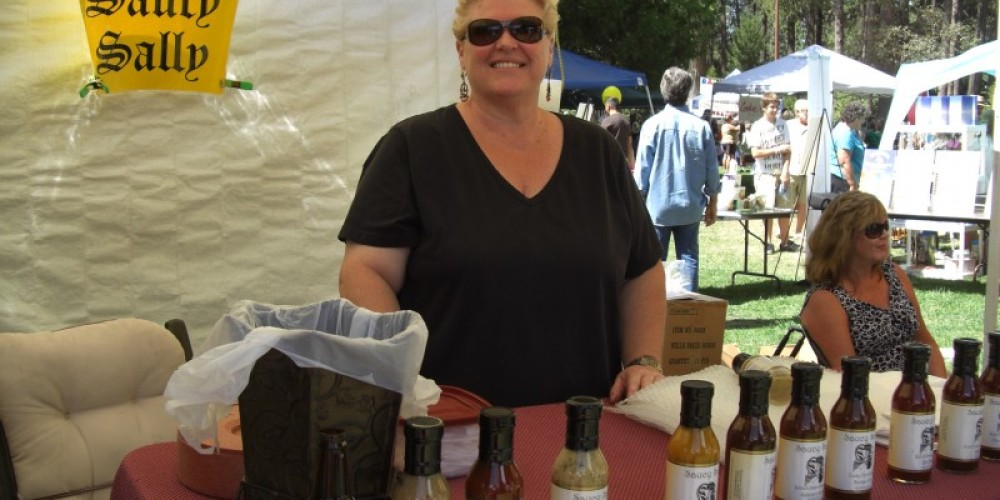 Vendors sell their quality products – Debbie Griffin