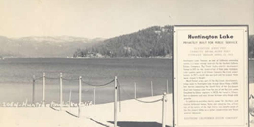 Huntington Lake Big Creek Historical Conservancy