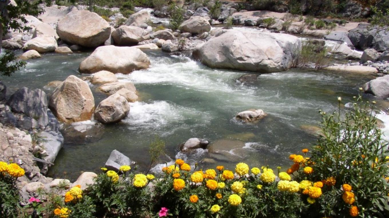 Kaweah River in front of The Gateway. – Bryan Schuyler