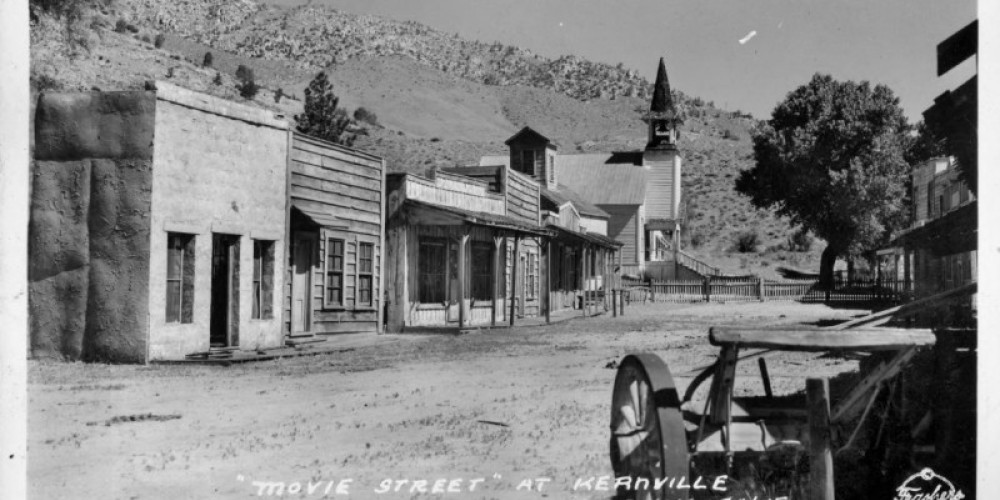 Movie Street, next to Methodist Church. Looking North, circa 1947 – unknown