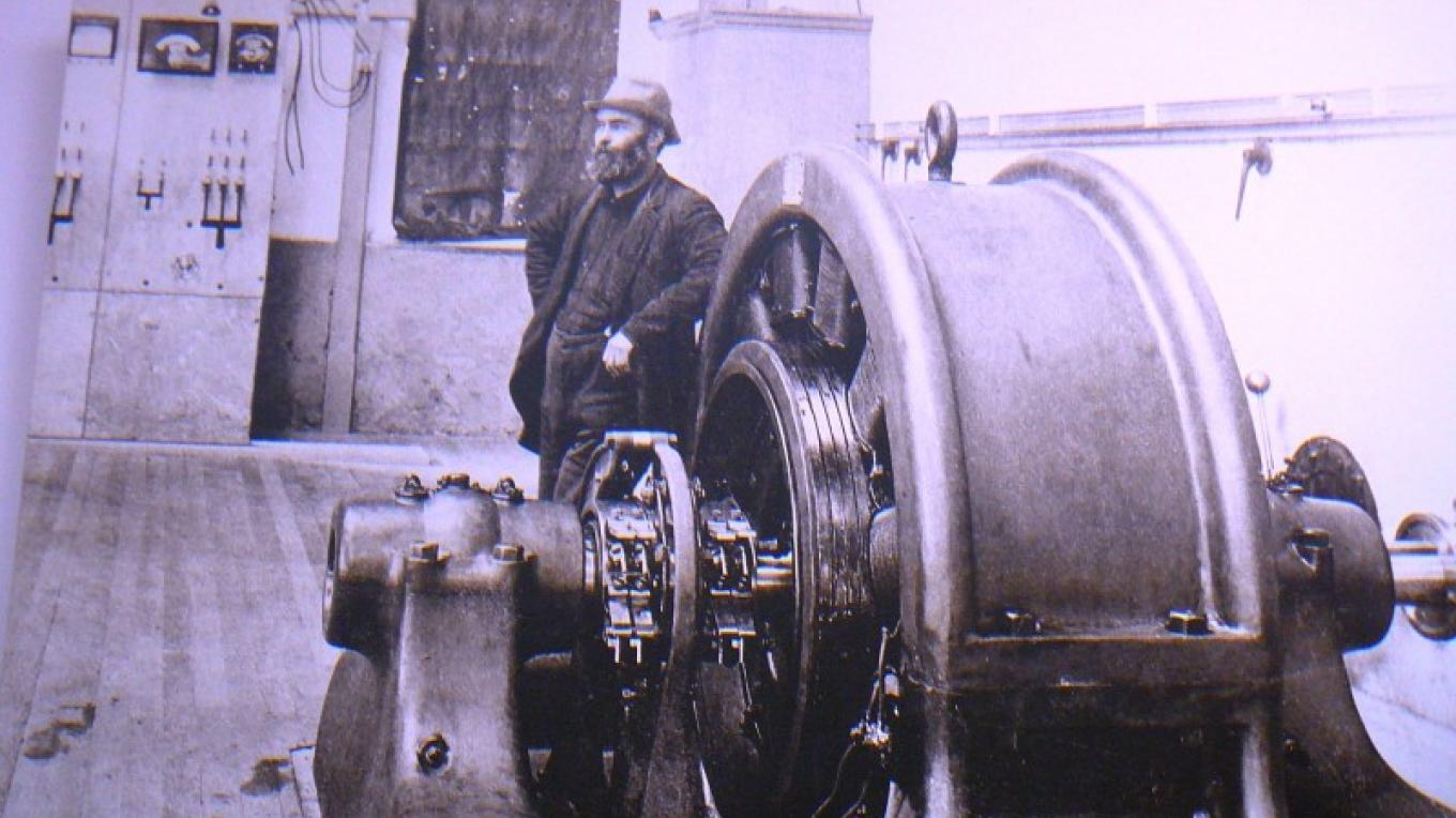 Turbines at Powerhouse#2 – Library photo byunknown