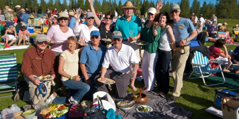 Friends and family come together at the Lake Tahoe Music Festival – Rob Retting