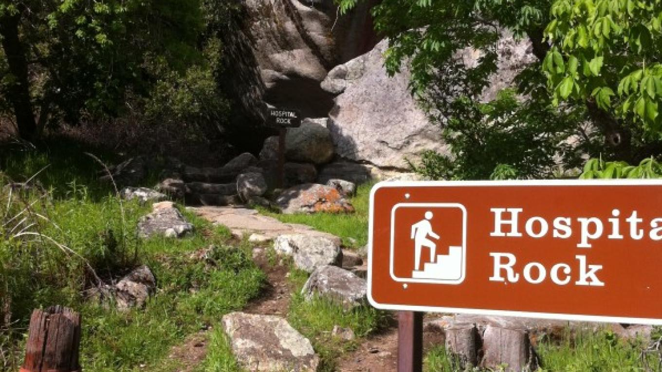 Access to Hospital Rock – National Park Service