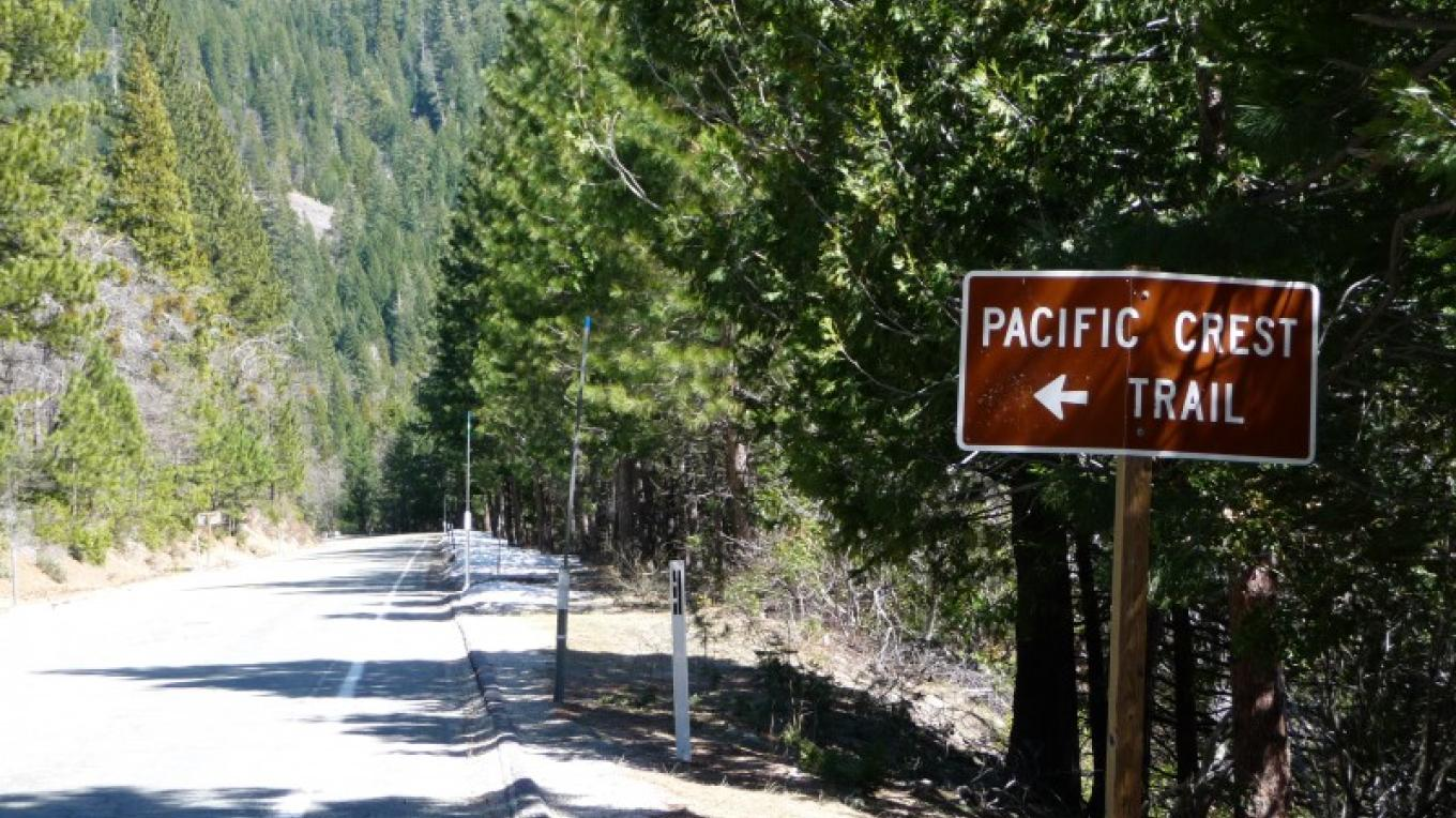 Yuba River Scenic Byway @ Pacific Crest Trail junction – Amy Gerbic